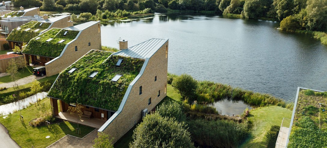 Wildflower-Roofed Holiday Home