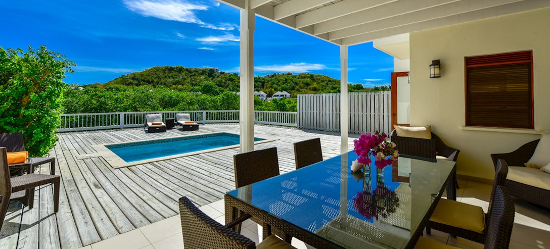 Antigua Waterfront Townhouse